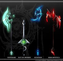 Reality Psychedelica Weapons #1 by Ateliae