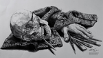 An Artist's Labor [Pencil Still-Life] by Adam-The-Person