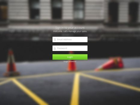 Login Page by AlirezaDot