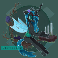Queen Chrysalis by vldzl0