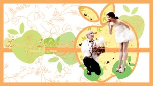 Leeteuk, Sora - Love is Delicious! Wallpaper by JadeRiverJR