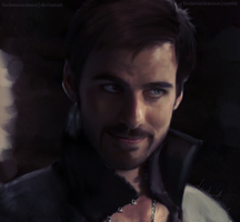 Captain Hook by LindaMarieAnson