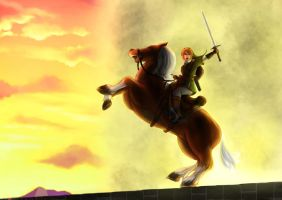 Link and Epona by DanielSchacht