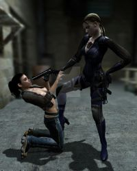 Jill is dominating on Alyx by diolator