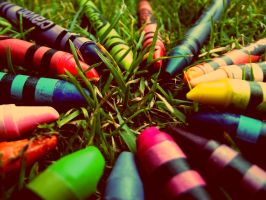 CRAYONS! by ShanLouise1997