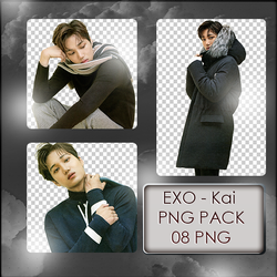 EXO Kai PNG Pack by exostangalaxy