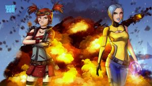 Cool gals don't look at explosions by kagato007