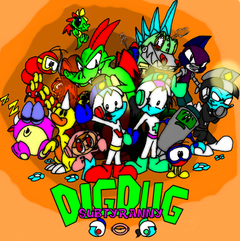 Dig Dug Subtyranny Colored by battybuddy