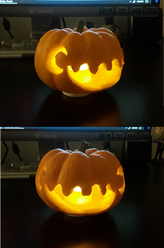 Monthly Challenge 10 - Puck-o-Lantern by Ascynd