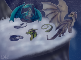 Playing in the Snow CM by Sahel-Solitude