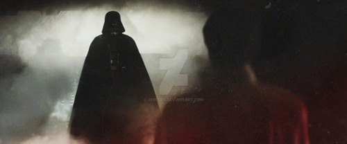 Lord Vader From The Place Where Jedi go to die by Jeri-Spy