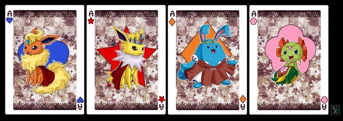Commission .: Ace Team cards :. by Icandoittoo