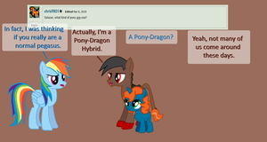 Ask Salazar and the Lifters#1-Pony-Dragon by MLP-Element