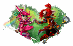 Power of Love - Commission by Ever-Evi