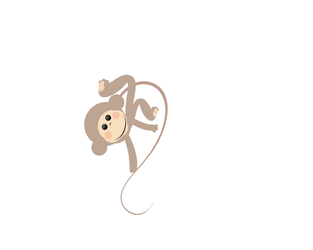 little monkey animation by DolphinCry