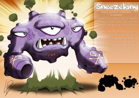Sneezeking- Weezing fan evolution concept