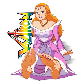 Ladies of Saturday Morning - 80s Princess Allura by scamwich