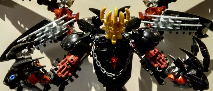 [BIONICLE] Makuta Blackwing w The Mask of Creation by Elphin-Zephyr