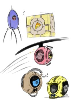 Five Nights at Aperture's by Crystalchan2D