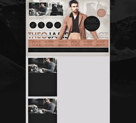 design ft.  Theo James by mosbiusdesigns