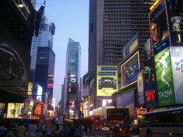 Times Square by MoonlightXxXShadow