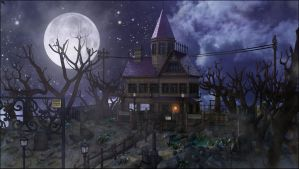 Haunted Mansion by MarcMons007
