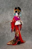 Oiran 3 by Glasmond