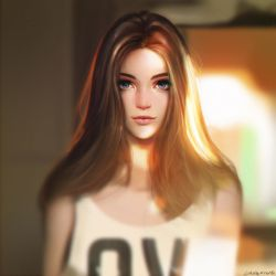 Afternoon sunlight by Liang-Xing