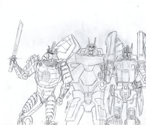 3 Drifts father and sons sketch by ailgara