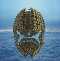 A Fractal balloon by singingwithfractals