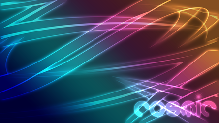 Cosmic Abstract - Wallpaper 1 by xeVile