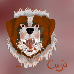 Stephen King's Cujo - 2017 version by kimikohime