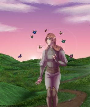 The path without end by Silva-Minstrel