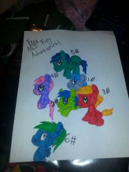 FREE Mlp filly adoptaples!  by FnafQandA2