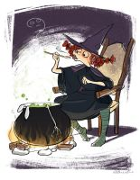Witch's dinner by Elaine10