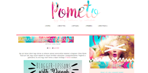 My blog's secound design by Pometo