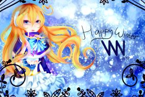 Happy winter Vocaloid News Network! by Aya-DNA