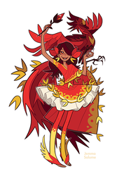 Magical Girls - Phoenix by oxboxer