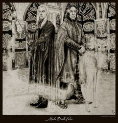 Macho Death Eaters by Ellygator