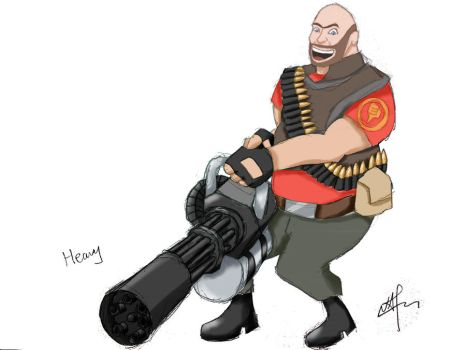 Team Fortress 2 Heavy [Red] by nap1991