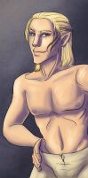 Zevran Arainai by chronicdoodler
