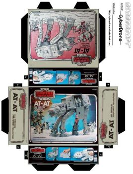 Mini AT-AT Toy Box by CyberDrone