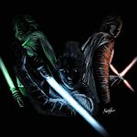 The Last Jedi _ Light in the dark by MartyRossArts