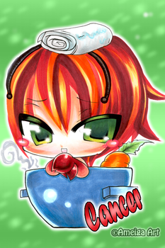 Cancer:::Chibi by AmeigaArt