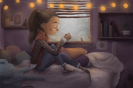 cozy time by magdali-na
