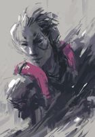 Moira Gear Solid (Overwatch) by Alex-Chow