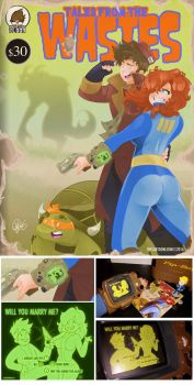 FALLOUT 4 Comic. Tales from the Wastes by TheCartoonLoon