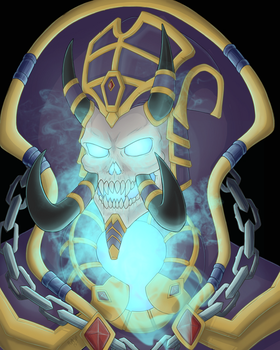 Kel'Thuzad by The-Zombie-Cat