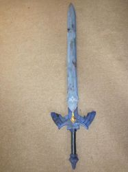 Damaged Master Sword by Oloring