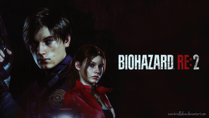 Resident Evil 2 Remake Wallpaper HD by BriellaLove